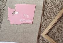 Crafts Projects / I see so many amazing diy crafts, I would love to have more time to actually create some of these. Little by little I will get to them while my daugher naps!