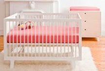 Girl Nursery Inspiration / Nursery inspirations and baby items I love. / by Lizzie Stewart | 346 Living