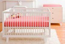 Girl Nursery Inspiration / Nursery inspirations and baby items I love.