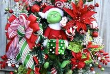 Holiday Decorating Ideas / Fall, Halloween, Thanksgiving, Christmas Holiday Decorating ideas / by Irish Girl's Wreaths