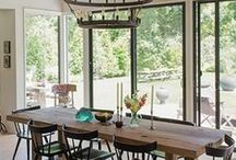 d i n i n g  r o o m / Dining Room Spaces & Décor