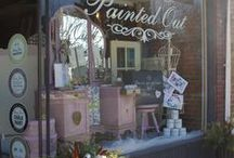Painted Out Inc / Home Décor & Annie Sloan Chalk Paint  4 Main St S in St.George Brant ON Paintedout.ca  519-414-4444