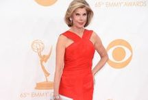 2013 Emmy Fashion 40+ / 65th Annual Emmy awards Red Carpet fashion worn by celebs 40+. Includes the FAB and not so fab selections.