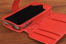 Phone Wallet Cases / Designed to securely hold your smartphone and doubles as a wallet / by StoryLeather.com