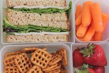 Best Lunchbox Ideas on the Block / Easy and fun lunchbox ideas to encourage healthy eating!  Lunches, lunchbox jokes, lunch prep.