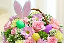 Easter / Decorative Easter flowers, baskets and food from 1800flowers make the perfect decorations and gifts for Easter Sunday! Learn more about Easter at www.1800flowers.com/easter.