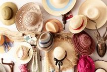 Cover your head / hats, hats, and hats  / by Priscilla Bel