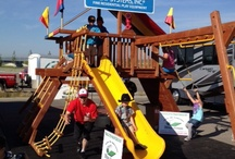 Rainbow Play Systems / by shop bluegrass