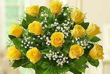 Yellow / Brighten up anyone's day or home with yellow floral arrangements and tasty treats from 1800flowers.com!