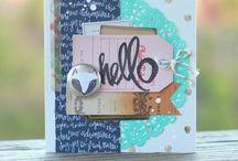 cards//envelopes / stationary diy inspiration / by amber