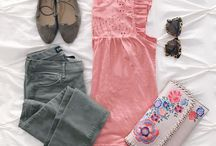 Polyvore & Flatlays of SPRING Fashion!