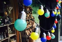 Lighting / From pretty, colourful lantern fairy lights, French rustic lamps and stylish glass suspension pendants, our beautiful lighting is sure to add a wonderful warm glow to your space and home.