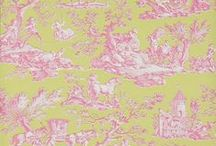 Toile Wallpapers / An edited selection of toile wallpapers available from Sally Bourne Interiors, 26 Muswell Hill Broadway, London, N10 3RT. Telephone 020 8444 3031 www.sallybourneinteriors.co.uk