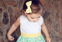 Sewing patterns - little girls / Oh my granddaughter needs this!
