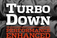 TURBODOWN / It doesn't get any warmer than this. Outfitted with our performance-enhanced down—a combination of Omni-Heat™ synthetic insulation and goose down means 890 TD of ultimate lightweight warmth and heat retention, even when wet—this progressive winter jacket will keep you warm in the absolute coldest conditions.