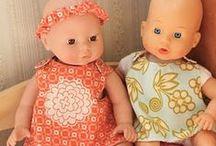 DIY Barbie/Baby doll stuff / by Christina Taylor