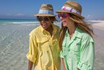 Fun In The Sun With PFG / These shirts might have been created for the boys, but the ladies know how to wear them.