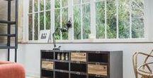 Meuble metal industriel / Meubles style industriel vintage: meuble à casiers, meubles metal grillagé. #meublemetal #meublecasier #meublemetalindustriel https://www.guibox.fr/collections/2-meuble-metal-industriel/