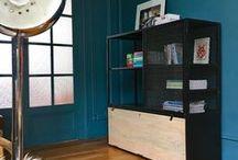 Meuble metal et bois Guibox / Meuble en metal et bois style vintage. Des meubles uniques, où l'on apprécie la finition artisanale valorisant la matière, et spécifique aux créations de chez Guibox, pour un style indus' mais pas que...