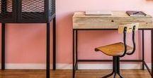 Meuble Retro Vintage / Meubles en bois metal, pour une ambiance vintage à mixer en toutes circonstances.