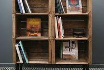 En mode Récup': DIY / Le style indus version récup', à base de mobilier et matériaux recyclés