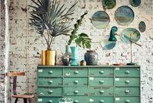 Brocante : meubles de métier / Collection de pièces authentiques, pour pièces à vivre...