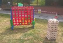 Games for Weddings & Garden Parties / Giant garden games available for hire in Southampton, Hampshire.  Collection from Southampton base.  No minimum order value but deposit will be payable on all orders.  See website for full selection. https://www.feteandpartygameshire.co.uk