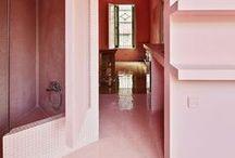 Un bonbon de maison / Quand le rose s'impose... Dans la maison! Sur nos murs, par touches subtiles, il invite à la rêverie et à l'harmonie.