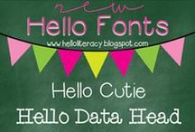 Fonts / by Amy Leigh Rogers