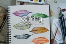 Things to Color / by Ashley Doran