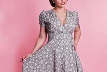 Dresses / Heart of Haute offers great items from Swing Dresses to classy mod dresses. Our items are inspired by 50's and 60's fashion, pinup girls, rockabilly and vintage culture. We make everything to order and ask our customers to allow us 7-10 business days to complete and ship.