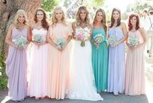 Bridesmaids / by Ale cupcakeeventi