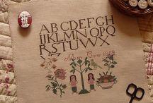 Cross Stitch Addiction / Antique Sampler Addiction / by Lisa Duncan