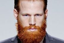 BEARDS / I love a man with facial hair... / by Elizabeth F.J.