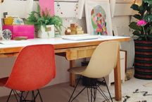 Office Spaces / Beautiful, home offices / work spaces