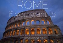 rome / by Robin | Melange Travel