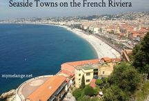 france : french riviera & corsica / Seaside destinations in the south of France and the French Riviera and Corsica.