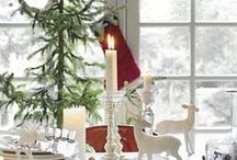 Xmas Ideas / Beautiful tables and ideas for Christmas - one of my fave times of the year!