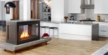 Residential / HearthCabinet Ventless Fireplaces require no connections - no chimney, venting, gas, or electricity. The fireplaces run on eco-friendly, alcohol gel fuel cartridges. They are single-use, pre-filled, and produce no smoke, soot, or odor.   Standard models are available in a range of sizes and styles, and completely custom-tailored options are available as well. HearthCabinet Ventless Fireplaces are proudly made in NYC by NY craftsmen.