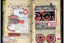 Scrap - Altered book