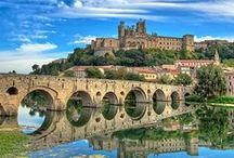 languedoc-roussillon / great places to travel in the languedoc-roussillon region of France