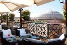 rooftop bars / a collection of bars with fabulous views / by Robin | Melange Travel