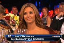 Amy Reimann - Earnhardt / http://hollywoodlife.com/celeb/amy-reimann/  Interior designer - Education: UK - University of Kentucky - BA, Interior Design. Born: March 25, 1982 , Texas Parents: Jeffrey Reimann, Anna Reinmann