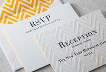 Wedding Invitations & Ideas / Wedding Invitations & Wedding Stationery / by Brianna Martz