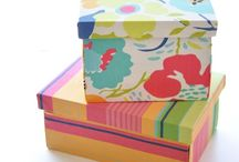 Shoe box ideas I / by CRP