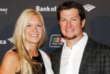 Martin Truex Jr and Sherry Pollex / One of my favorite NASCAR driver and his girlfriend, Sherry