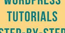 WordPress Tutorials / Easy, step-by-step WordPress tutorials for newbie and beginner bloggers