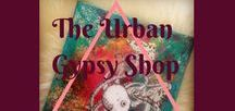 The Urban Gypsy Shop / The Urban Gypsy is an artist and creator at heart. Check out the items that you can purchase.