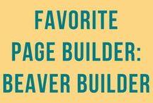 Beaver Builder | WordPress Page Builder / Beaver Builder | page builder plugin | free plugin and premium plugin | easy to use WordPress page builder