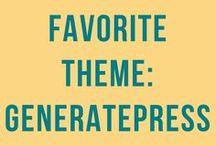 GeneratePress | Best WordPress Theme / GeneratePress | Free WordPress theme | Premium WordPress theme | video tutorials | tips